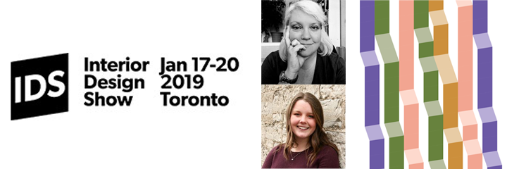 Interior Design Show begins January 17 to January 20 in Toronto, Photos of the Presenters, Thea Kurdi and Sarah Libera
